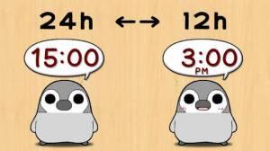 Androidアプリ「ぺそぎん時計 デジタル時計ウィジェット無料ペンギン育成ゲーム」のスクリーンショット 2枚目