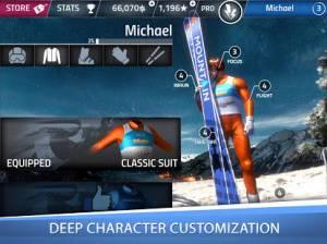 Androidアプリ「Ski Jumping Pro」のスクリーンショット 5枚目