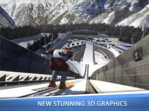 Androidアプリ「Ski Jumping Pro」のスクリーンショット 1枚目