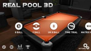 Androidアプリ「Real Pool 3D」のスクリーンショット 4枚目