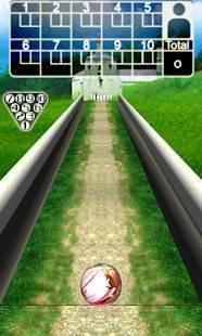 Androidアプリ「ボウリング 3D Bowling」のスクリーンショット 4枚目