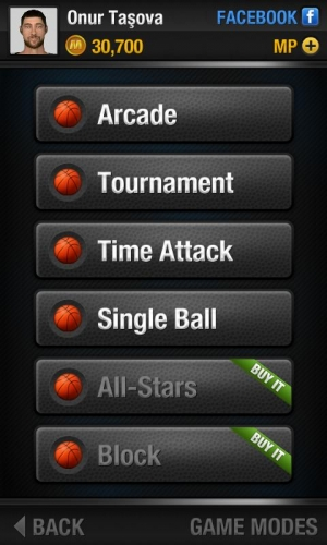 Androidアプリ「Real Basketball」のスクリーンショット 3枚目