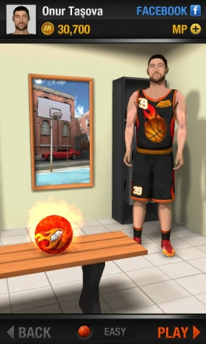 Androidアプリ「Real Basketball」のスクリーンショット 4枚目