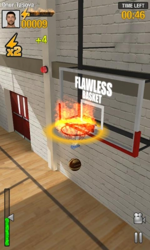 Androidアプリ「Real Basketball」のスクリーンショット 5枚目