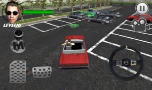 Androidアプリ「クレイジー駐車王 3D」のスクリーンショット 2枚目
