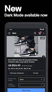 Androidアプリ「eBay: Buy, sell, and save straight from your phone」のスクリーンショット 4枚目