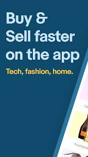 Androidアプリ「eBay: Buy, sell, and save straight from your phone」のスクリーンショット 1枚目