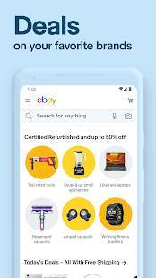 Androidアプリ「eBay: Buy, sell, and save straight from your phone」のスクリーンショット 3枚目
