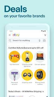 Androidアプリ「eBay - Buy, sell, and discover summer deals today」のスクリーンショット 3枚目