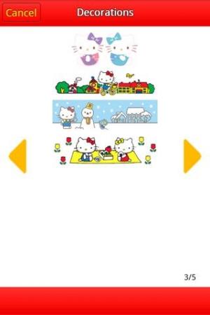 Androidアプリ「ハローキティtwippa」のスクリーンショット 4枚目