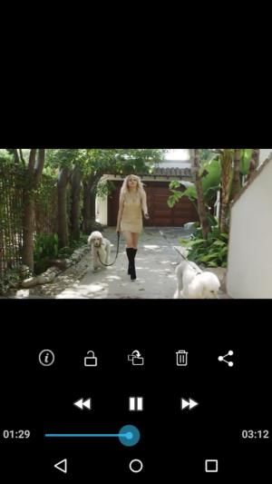 Androidアプリ「GalleryVault Pro Key」のスクリーンショット 5枚目