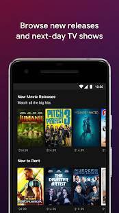 Androidアプリ「Google Play ムービー& TV」のスクリーンショット 3枚目