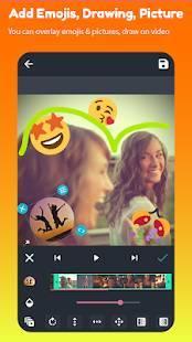Androidアプリ「AndroVid - ビデオエディタ」のスクリーンショット 2枚目