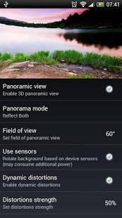 Androidアプリ「Panoramic Screen」のスクリーンショット 5枚目