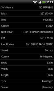Androidアプリ「Ship Finder」のスクリーンショット 3枚目