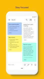 Androidアプリ「Google Keep - メモとリスト」のスクリーンショット 5枚目