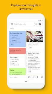 Androidアプリ「Google Keep - メモとリスト」のスクリーンショット 1枚目