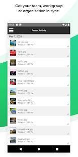 Androidアプリ「SugarSync」のスクリーンショット 2枚目