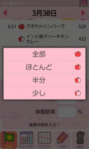 Androidアプリ「自分磨きDiary」のスクリーンショット 4枚目