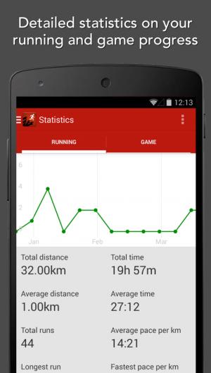 Androidアプリ「Zombies, Run!」のスクリーンショット 4枚目