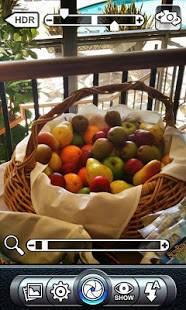 Androidアプリ「Pro HDR Camera」のスクリーンショット 2枚目