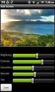 Androidアプリ「Pro HDR Camera」のスクリーンショット 1枚目