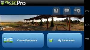 Androidアプリ「Photafパノラマプロ」のスクリーンショット 1枚目