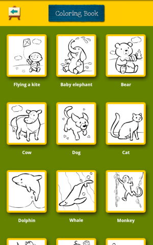 Androidアプリ「Color & Draw for kids」のスクリーンショット 5枚目