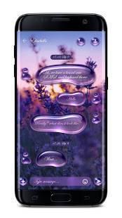 Androidアプリ「GO SMS Pro - 無料テーマ & ショートメール」のスクリーンショット 1枚目