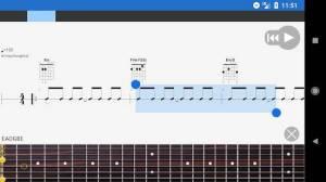 Androidアプリ「Guitar Pro」のスクリーンショット 3枚目