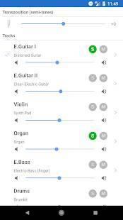 Androidアプリ「Guitar Pro」のスクリーンショット 4枚目