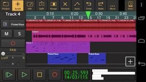 Androidアプリ「Audio Evolution Mobile Studio」のスクリーンショット 1枚目