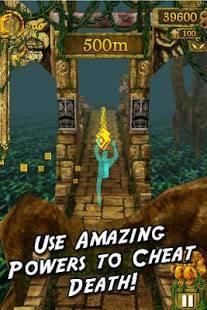 Androidアプリ「Temple Run」のスクリーンショット 3枚目