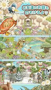 Androidアプリ「ピーターラビットガーデン 【箱庭・育成ゲーム】」のスクリーンショット 4枚目