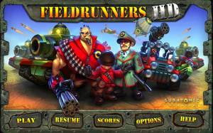 Androidアプリ「Fieldrunners HD」のスクリーンショット 1枚目