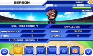 Androidアプリ「Baseball Superstars® 2011」のスクリーンショット 3枚目