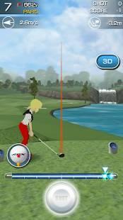 Androidアプリ「チャンピオンズゴルフ」のスクリーンショット 4枚目