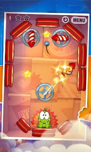 Androidアプリ「Cut the Rope: Experiments」のスクリーンショット 4枚目