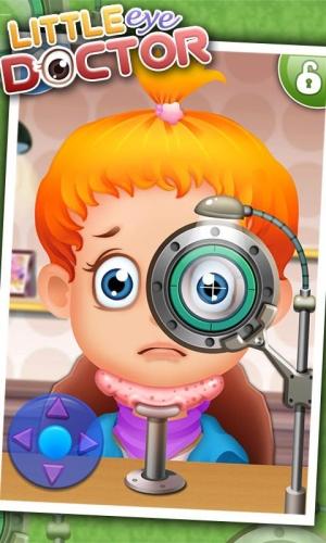 Androidアプリ「小眼科医 - 子供向けゲーム」のスクリーンショット 1枚目