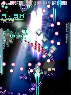 Androidアプリ「弾幕無限2 - Danmaku Unlimited 2」のスクリーンショット 1枚目
