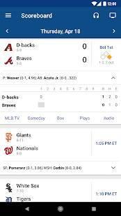 Androidアプリ「MLB At Bat」のスクリーンショット 2枚目