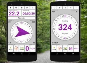 Androidアプリ「GPS Test Plus Navigation」のスクリーンショット 5枚目