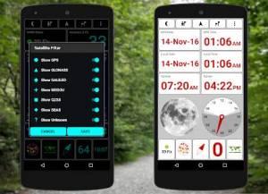 Androidアプリ「GPS Test Plus Navigation」のスクリーンショット 2枚目