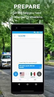 Androidアプリ「Vocre 翻訳」のスクリーンショット 4枚目