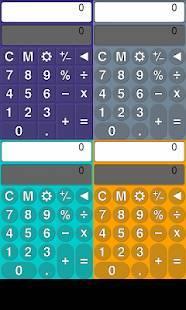 Androidアプリ「カラフル電卓」のスクリーンショット 5枚目