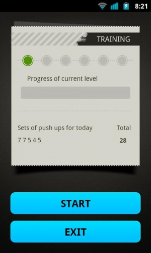 Androidアプリ「Sit Ups Workout」のスクリーンショット 4枚目