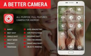 Androidアプリ「A Better Camera」のスクリーンショット 1枚目