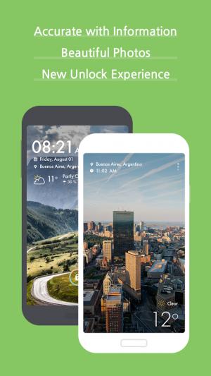Androidアプリ「Weather +」のスクリーンショット 2枚目