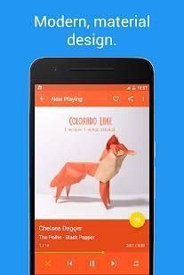 Androidアプリ「Shuttle+ Music Player」のスクリーンショット 2枚目