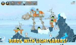 Androidアプリ「Angry Birds Star Wars」のスクリーンショット 2枚目